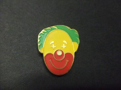 Clown grappenmaker emaille pin